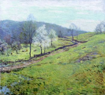 May Afternoon 1920 | Willard Leroy Metcalf | oil painting