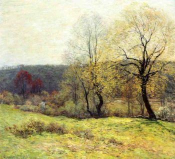May Pastoral 1907 | Willard Leroy Metcalf | oil painting