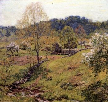Maytime 1919 | Willard Leroy Metcalf | oil painting