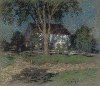 Moonlight 1906 | Willard Leroy Metcalf | oil painting
