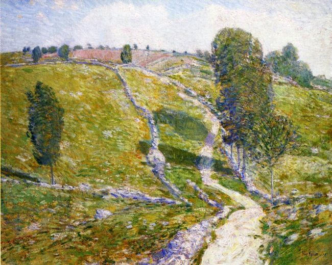 Road to the Land of Nod | Frederick Childe Hassam | oil painting