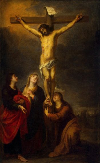 Crucifixion | Murillo Bartolome Esteban | oil painting