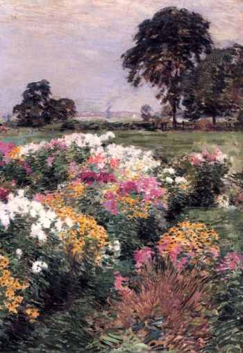 Purple White and Gold 1903 | Willard Leroy Metcalf | oil painting