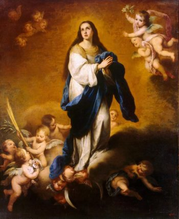 Esquilache Immaculate Conception | Murillo Bartolome Esteban | oil painting