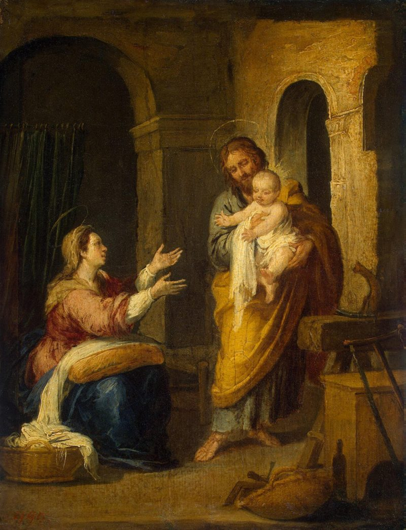 Holy Family | Murillo Bartolome Esteban | oil painting