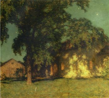 Summer Night 1914 | Willard Leroy Metcalf | oil painting