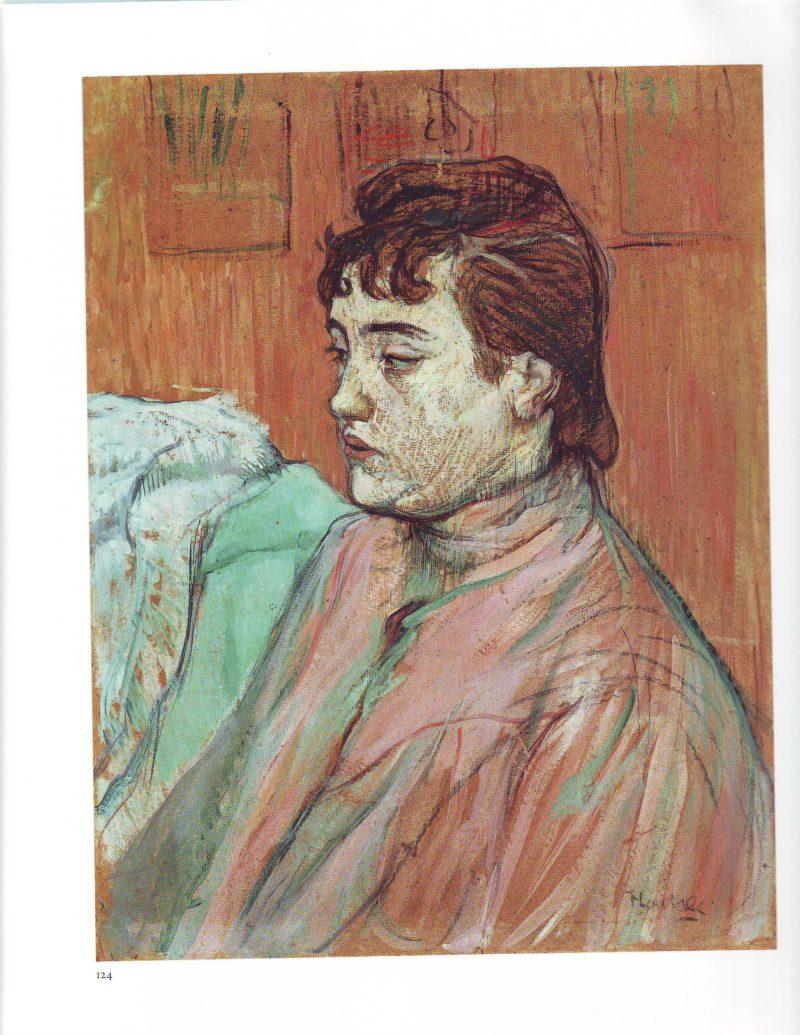 The streetwalker | Henri Marie Raymond De Toulouse Lautrec | oil painting
