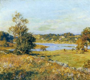 The Breath of Autumn 1915 | Willard Leroy Metcalf | oil painting