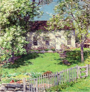 The Little White House 1919 | Willard Leroy Metcalf | oil painting