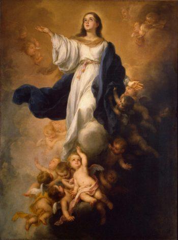 Walpole Immaculate Conception   Murillo Bartolome Esteban   oil painting