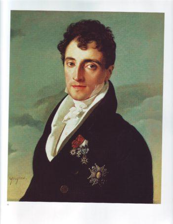 Baron Joseph Pierre Vialetes de Mortarieu | Jean Auguste Dominique Ingres | oil painting