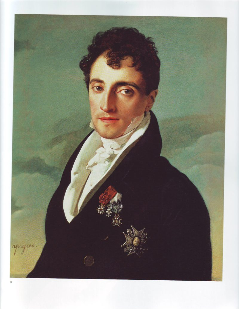 Baron Joseph Pierre Vialetes de Mortarieu   Jean Auguste Dominique Ingres   oil painting