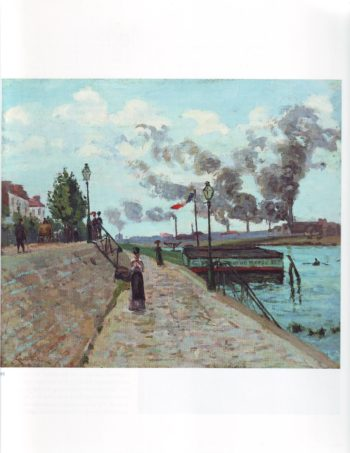 The seine at charenton | Jean Baptiste Aemand Guillaumin | oil painting