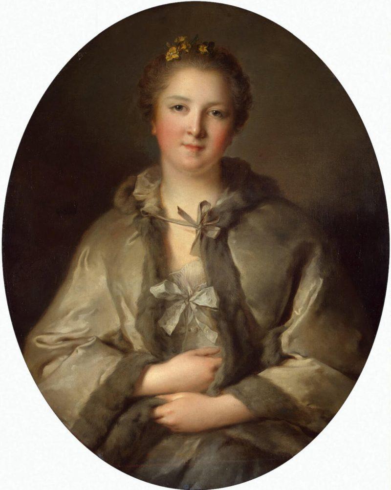 Portrait of a Woman in Grey   Nattier Jean-Marc   oil painting