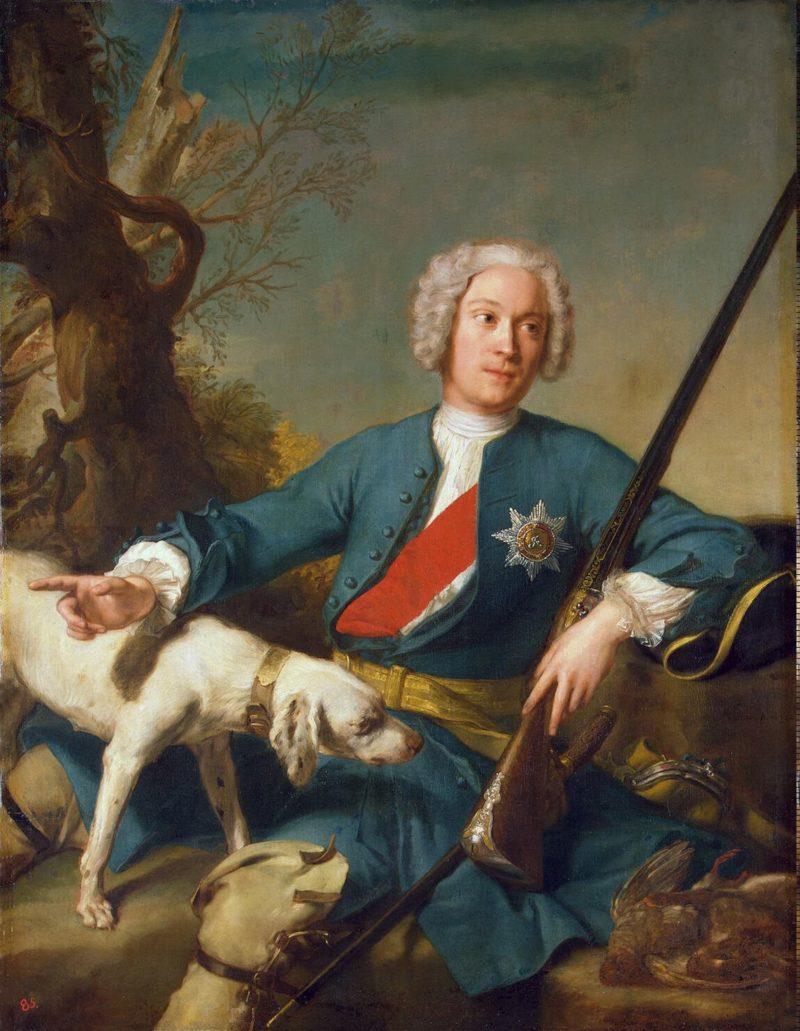 Portrait of Alexander Kurakin | Nattier Jean-Marc | oil painting
