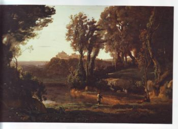 Site in Italy | Jean Baptiste Camille Corot | oil painting