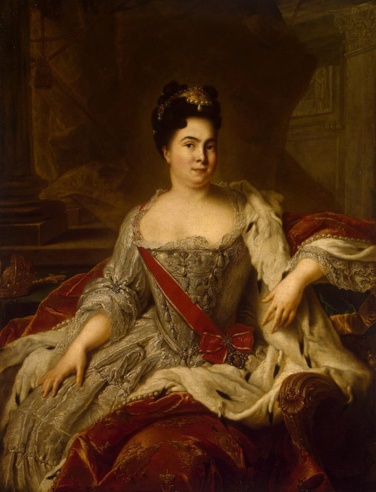 Portrait of Catherine I | Nattier Jean-Marc | oil painting