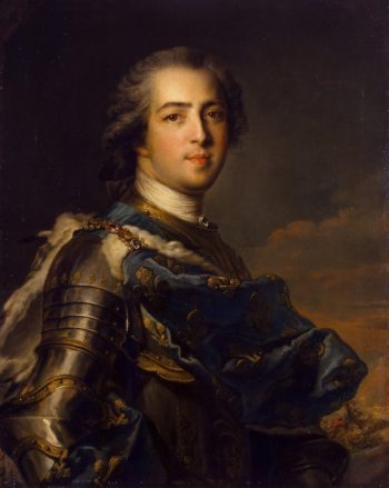 Portrait of Louis XV of France | Nattier Jean-Marc | oil painting