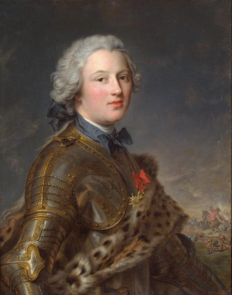Portrait of Pierre-Victoire Baron of Besenval   Nattier Jean-Marc   oil painting