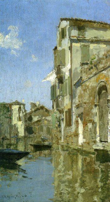 Venice 1887 | Willard Leroy Metcalf | oil painting