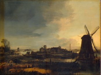 Landscape with a Windmill | Neer Aert van der | oil painting