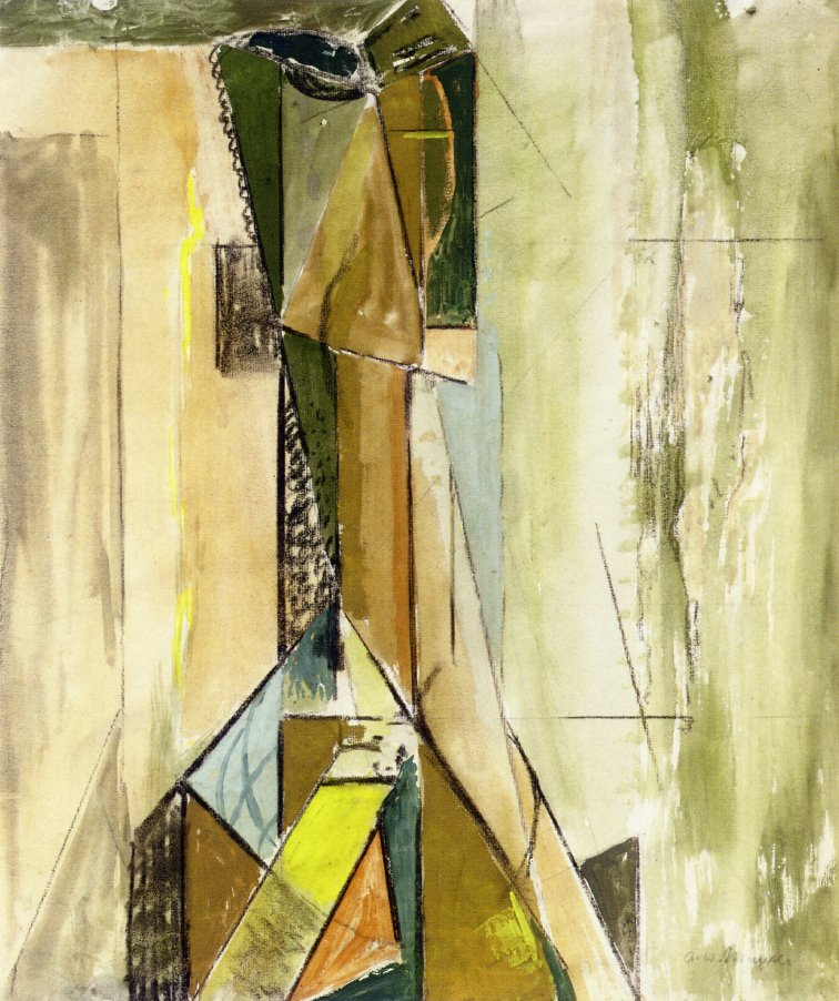 Abstract Head 1930 | Alfred Henry Maurer | oil painting