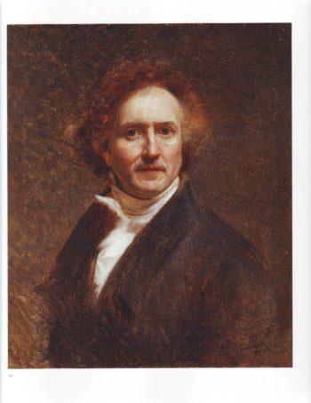 Self portrait | Jerome Martin Langlois | oil painting