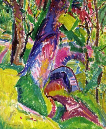 Bridte Landscape 2 1915-1920 | Alfred Henry Maurer | oil painting