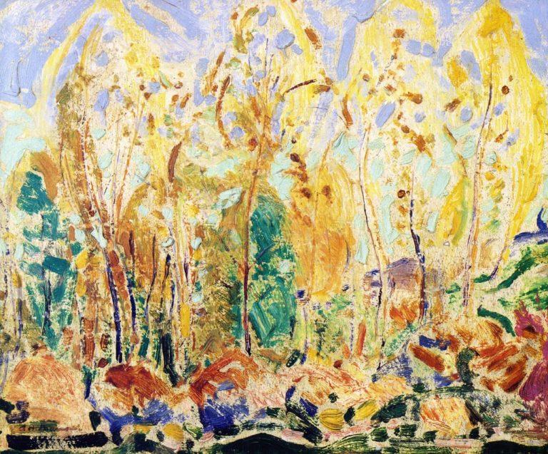 Fauve Landscape 1907 | Alfred Henry Maurer | oil painting