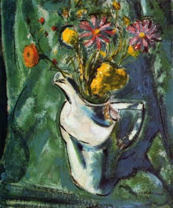 Floral Still Life 1912 | Alfred Henry Maurer | oil painting