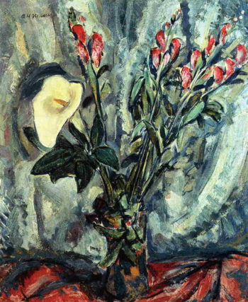 Floral Still Life with Calla Lily 1926-1928 | Alfred Henry Maurer | oil painting