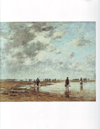 Low tide | Louis Eugene Boudin | oil painting