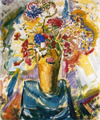 Flowers in a Vase Date unknown | Alfred Henry Maurer | oil painting