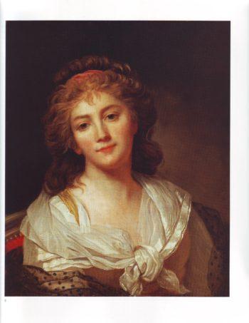 Self portrait | Marie Genevieve Bouliar | oil painting