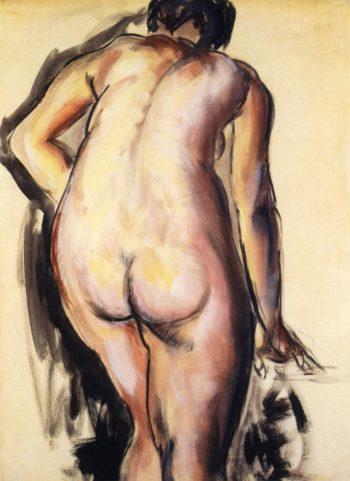 Fugure 1927 1928 | Alfred Henry Maurer | oil painting