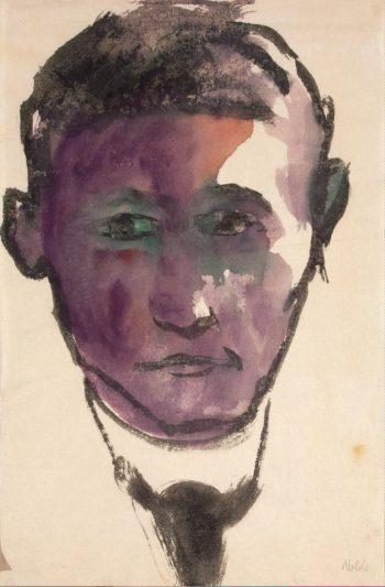 Portrait of a Man | Nolde Emil | oil painting