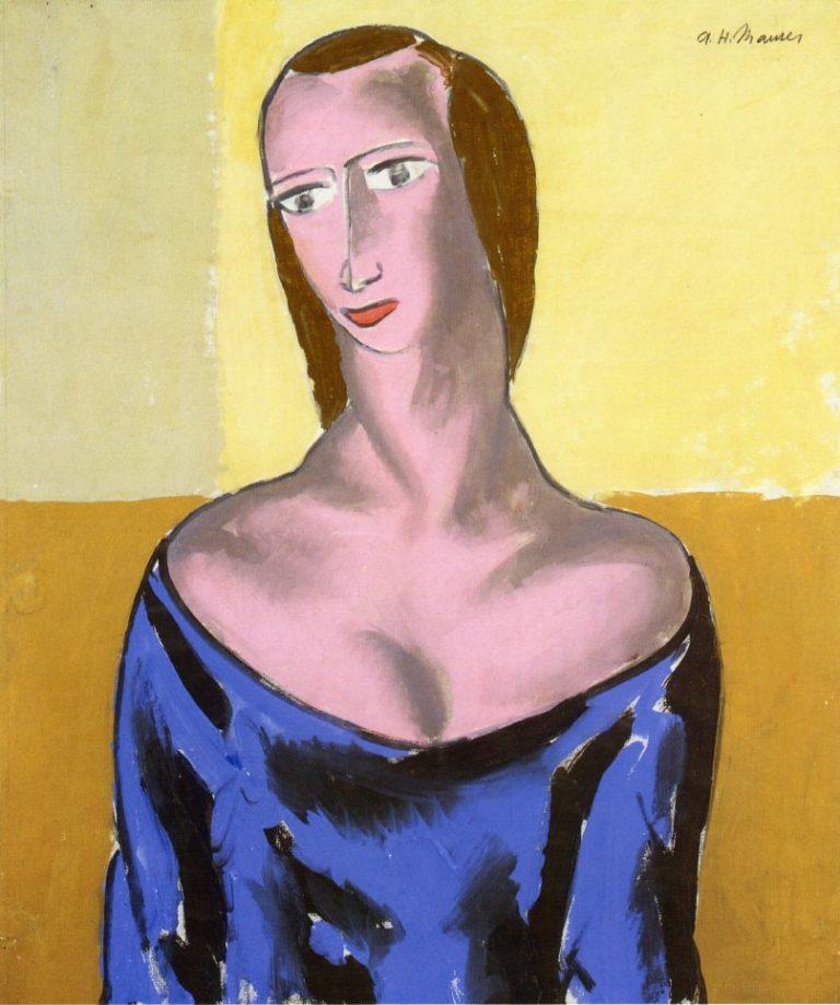 Girl 1923 1 | Alfred Henry Maurer | oil painting