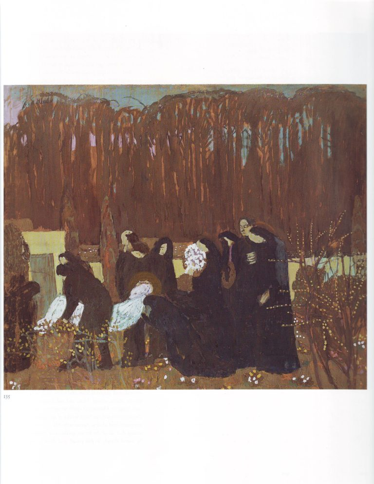 The entombment | Maurice Denis | oil painting