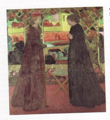Visitation | Maurice Denis | oil painting