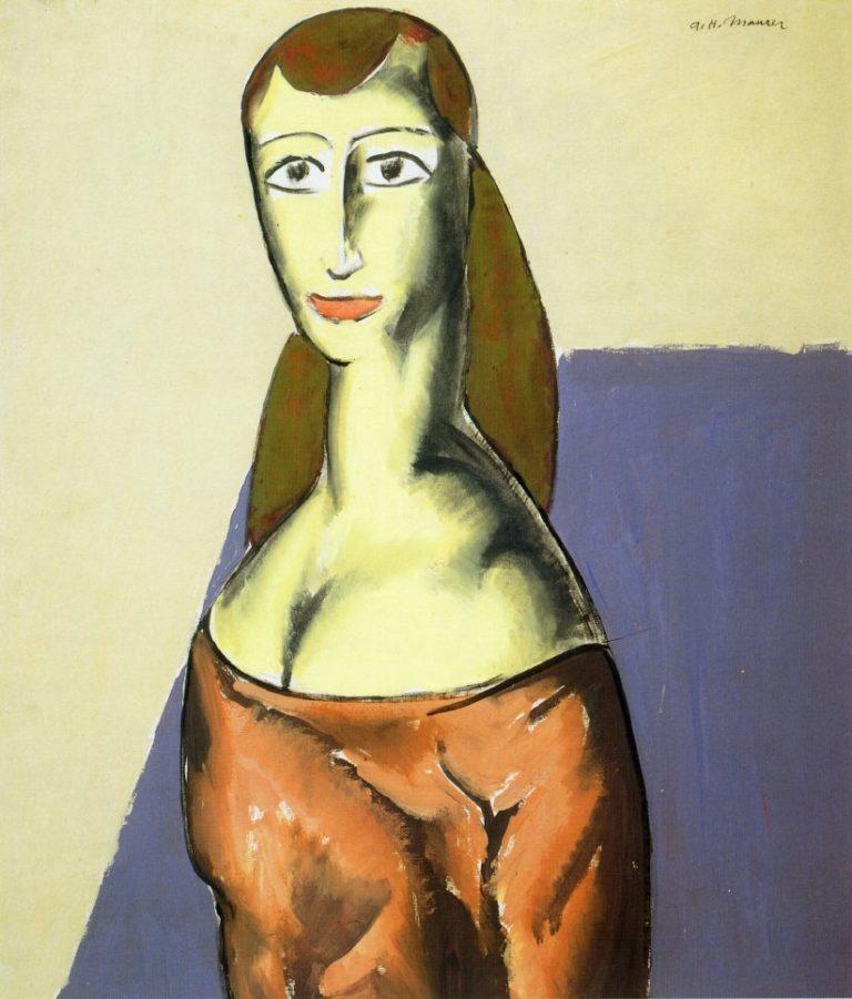 Girl 1923 | Alfred Henry Maurer | oil painting