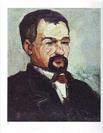 Uncle Dominique | Paul Cezanne | oil painting
