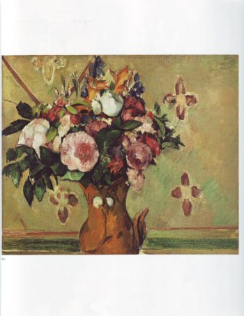 Vase of flowers | Paul Cezanne | oil painting