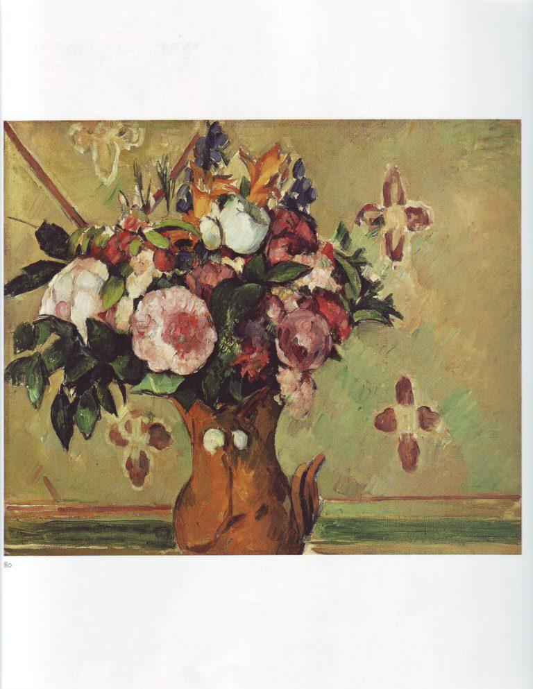 Vase of flowers   Paul Cezanne   oil painting