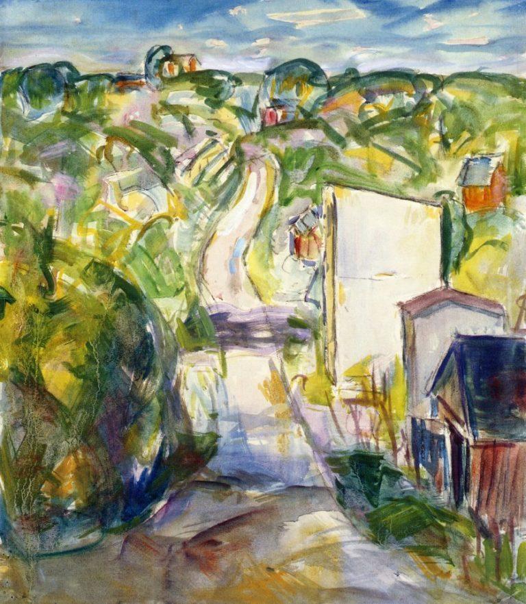Landscape 1915-1924 | Alfred Henry Maurer | oil painting
