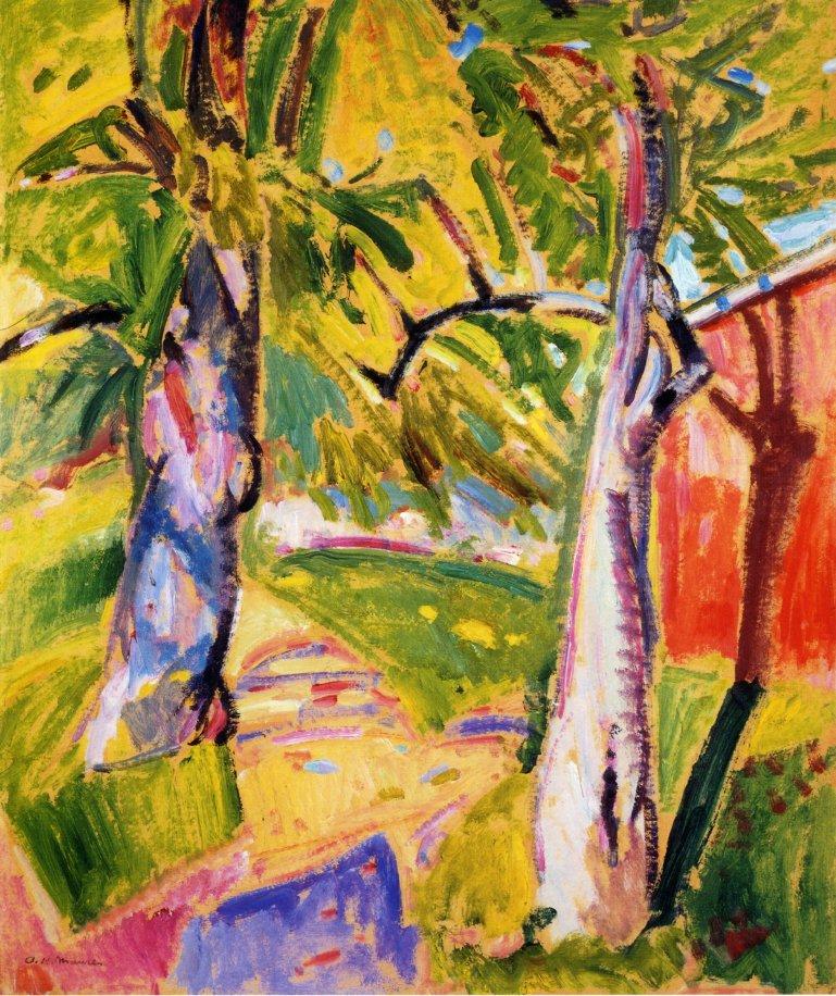 Landscape 1916 | Alfred Henry Maurer | oil painting