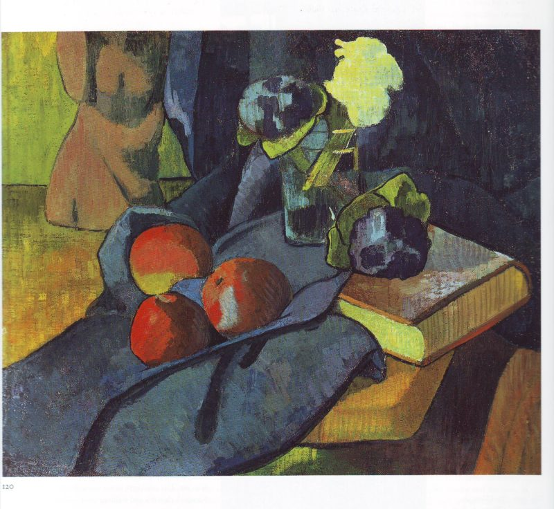 Still life with apples and violets | Paul Serusier | oil painting