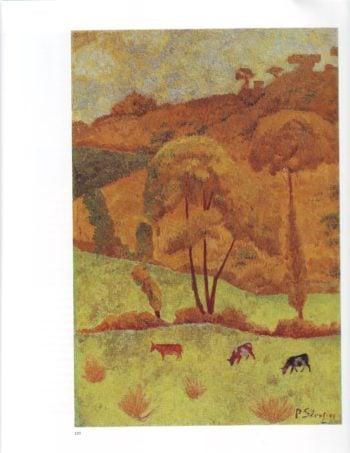 Synchromy in yellow   Paul Serusier   oil painting
