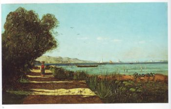 Landscape in martigues | Paul Camille Guigou | oil painting