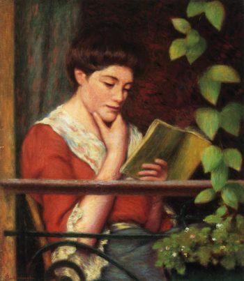 Reading by a Window | Federico Zandomeneghi | oil painting