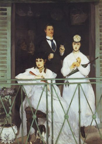 The balcony | Edouard Manet | oil painting